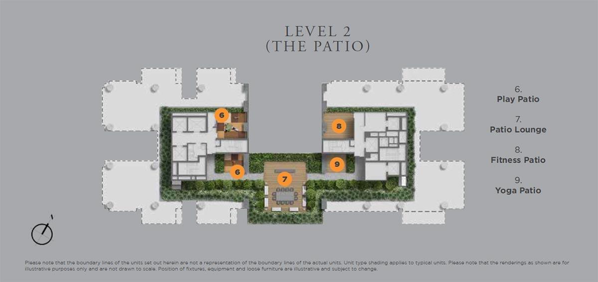 Boulevard 88 Site Plan Level 2
